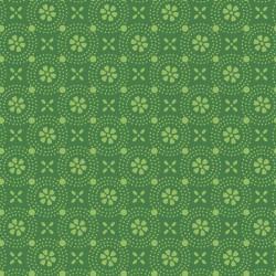MAS8241-GG KIMBERBELL BASICS DOTTED CIRCLES - GREEN TONAL