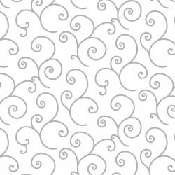 White on White Scroll