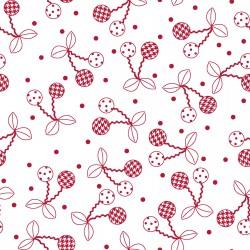 Kimberbell Basics White & Red Cherry