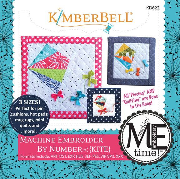 KIMBERBELL KITE MACHINE EMBROIDER BY THE NUMBER