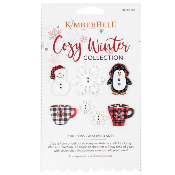 Kimberbell Cozy Winter Buttons Collection -- KDKB168