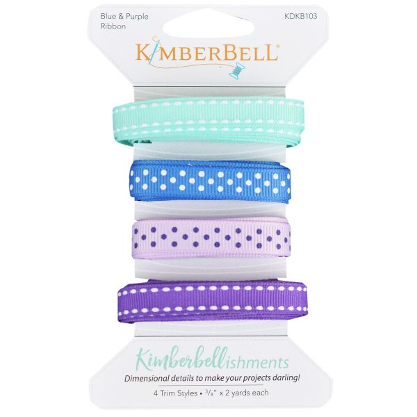 Blue and Purple Ribbon Set KDKB103