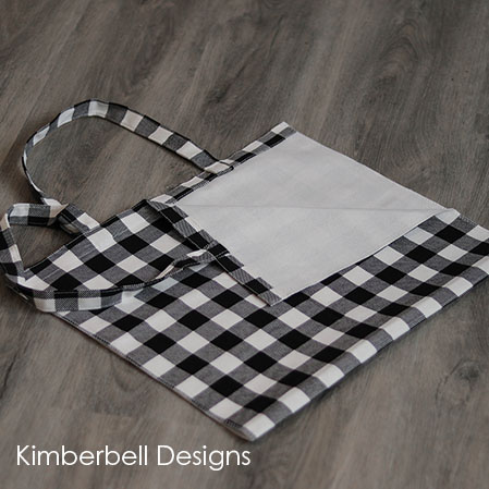 Kimberbell Buffalo Check Tote Bag