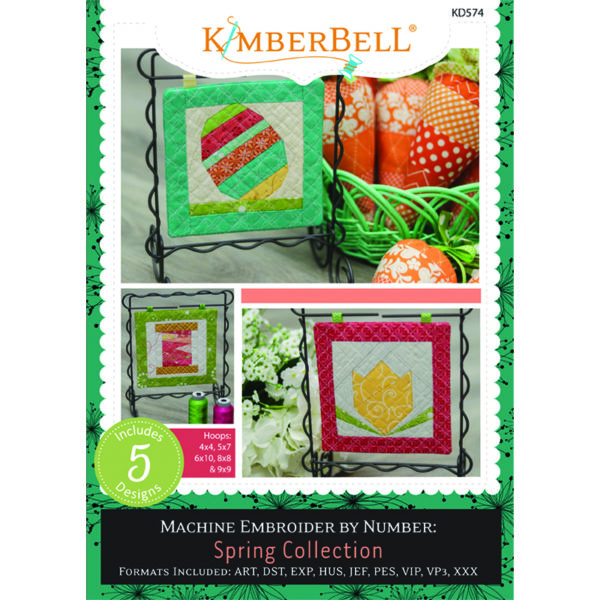 Kimberbell Machine Embroider by Number: Spring Collection