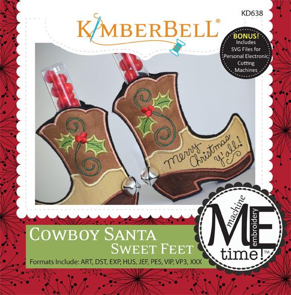 Sweet Feet: Cowboy Santa
