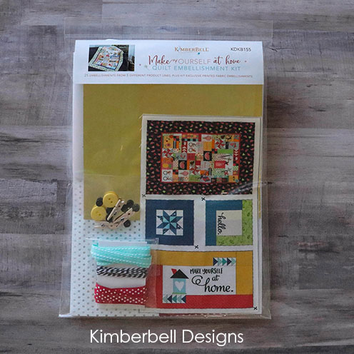Embellishment Kit, Make Yourself at Home by Kimberbell Designs