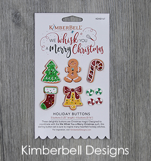 KDKB167 We Whisk You a Merry Christmas Buttons