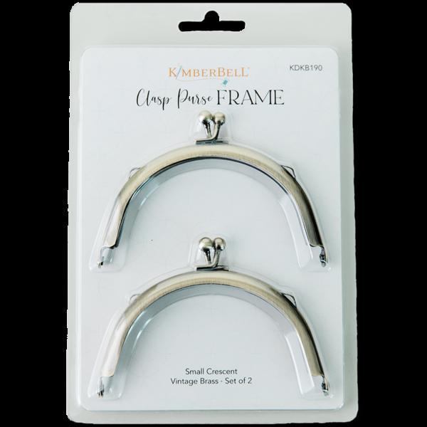 Clasp Purse Frame - Small Crescent