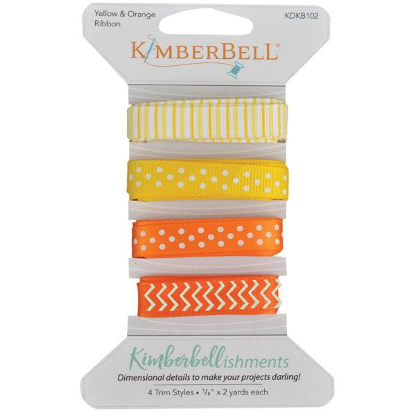 Kimberbell Yellow and Orange Ribbon Set