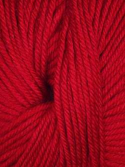 Cozy Soft Bright Red