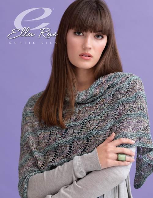 Ella Rae Rustic Silk Madelyn Shawl