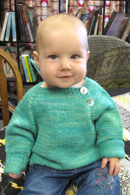 KPS 1210 Button Front Baby Pullover