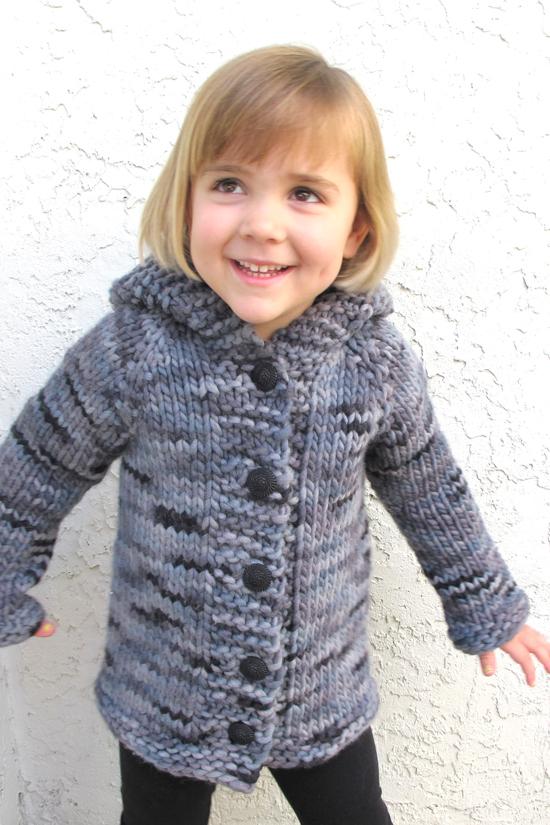 KPS 126 Children's Bulky Top Down Coat