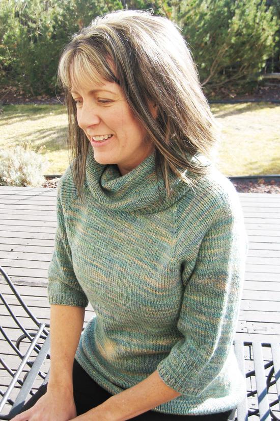 KPS 291 Neck Down Cowl - Collar Pullover