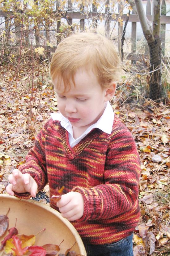 KPS 293 Children's V Neck Down Pullover