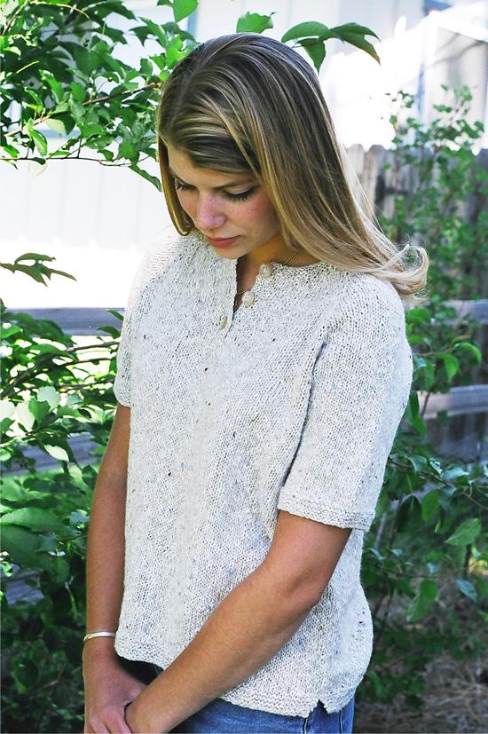 KPS 9727 Henley T Shirt for Women