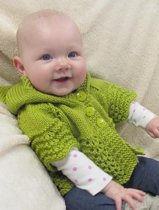 KPS 1505 Lacy Baby Hoodie