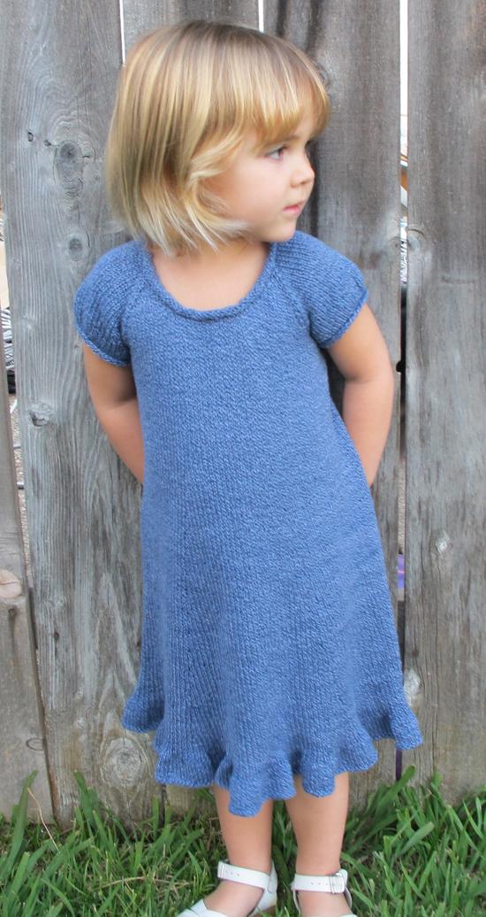 KPS 122 Little Girls Top Down Dress