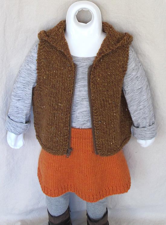 KPS 1608 A Line Skirt