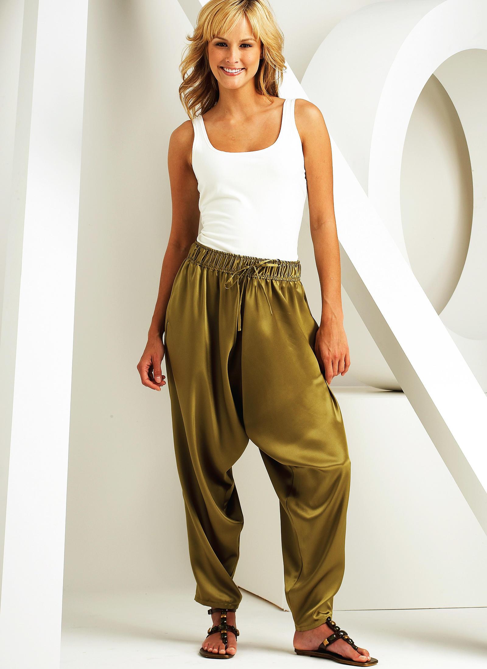 Kwik Sew K3701 Harem Pants Pattern XS- XL