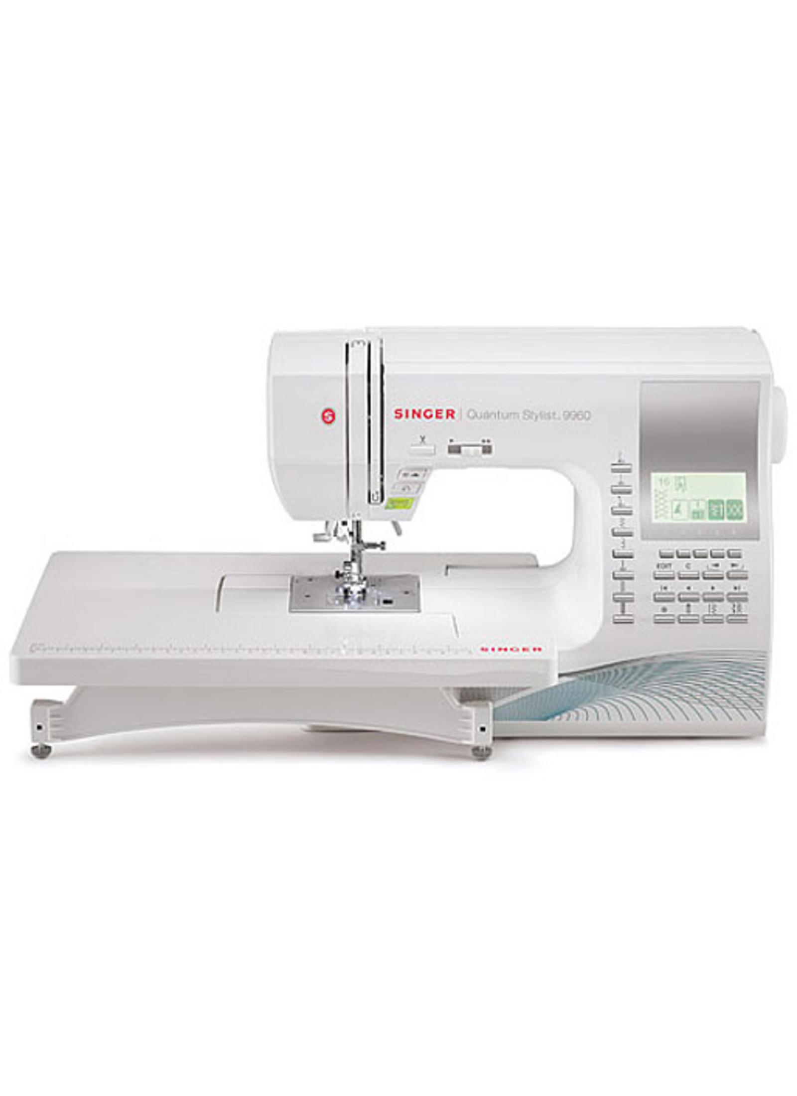 Singer 9960 Quantum Stylist Sewing Machine Reg $899.99 Now $649.99 No Taxes!