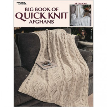 BK KN Big Book of Quick Knit Afghans