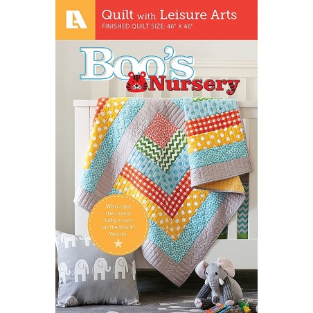 Boo's Nursery - Colorful Baby Quilt Pattern Pack