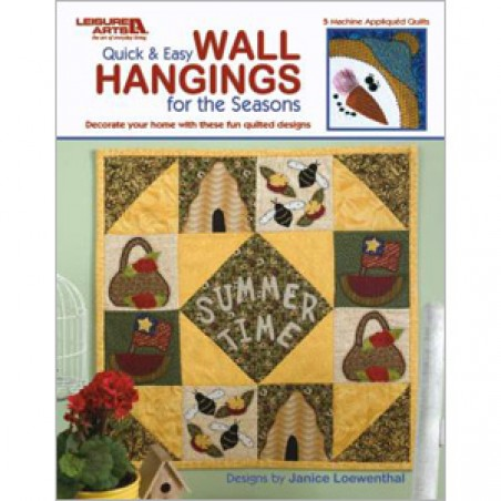 Quick & Easy Wall Hangings for the Seasons