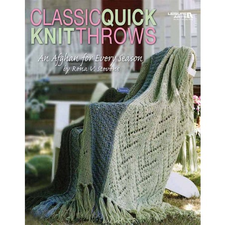 Classic Quick Knit Throws