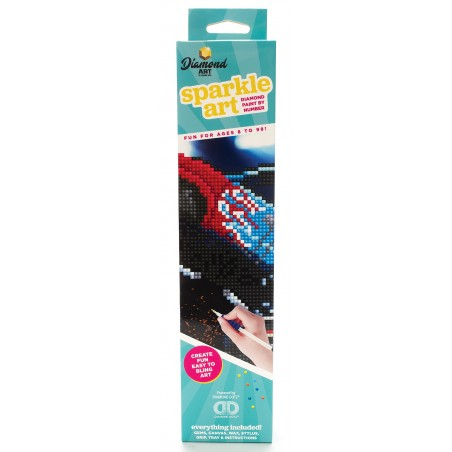 Monster Truck Sparkle Art Diamond Paint by Number