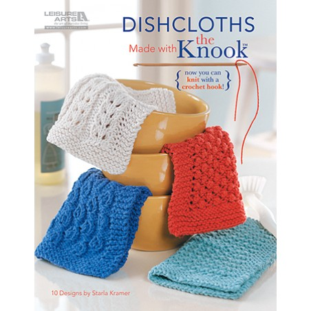 Dishcloths Made with the Knook Book