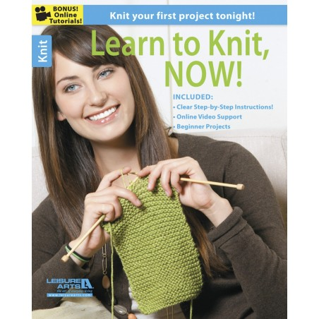 Learn to Knit Now! from Leisure Arts