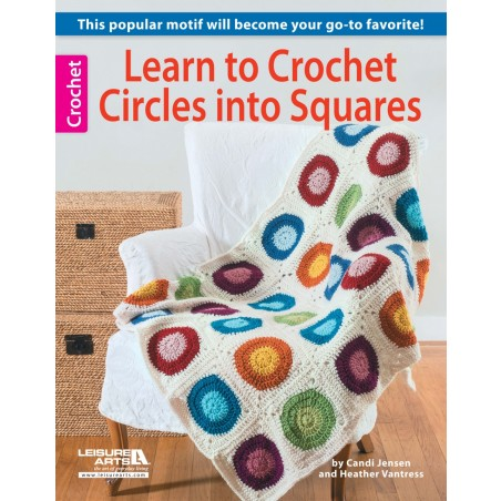 Crochet Circles into Square
