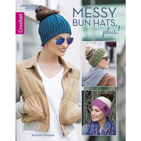 Messy Bun Hats, Plus!