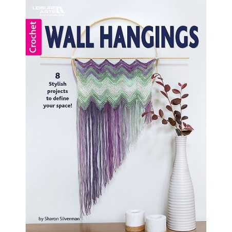 Wall Hangings - 8 Stylish Crochet Yarn Projects to Define Your Space