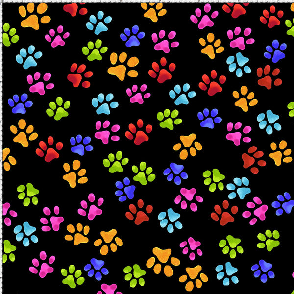 Cool Cats - Paws<br>691-796 - Black