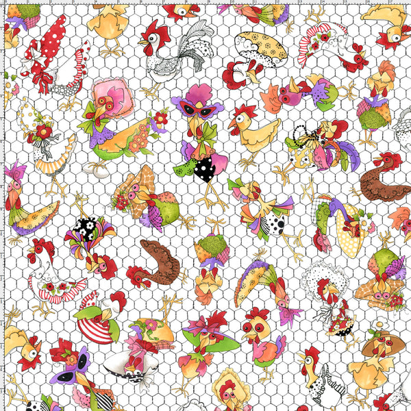Coopers White Fabric (F10733)