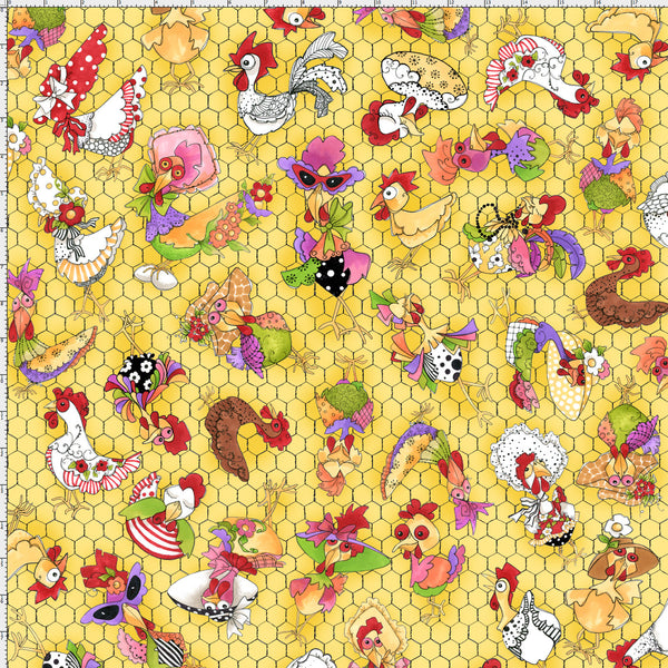 Coopers Yellow Fabric (F10719)