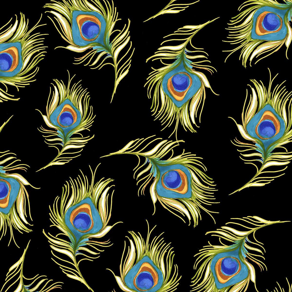 Pretty Peacock - Black   692-361