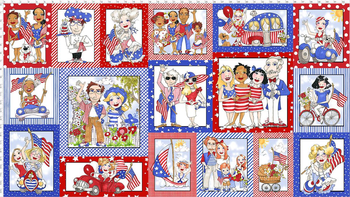 US Fabric Panel