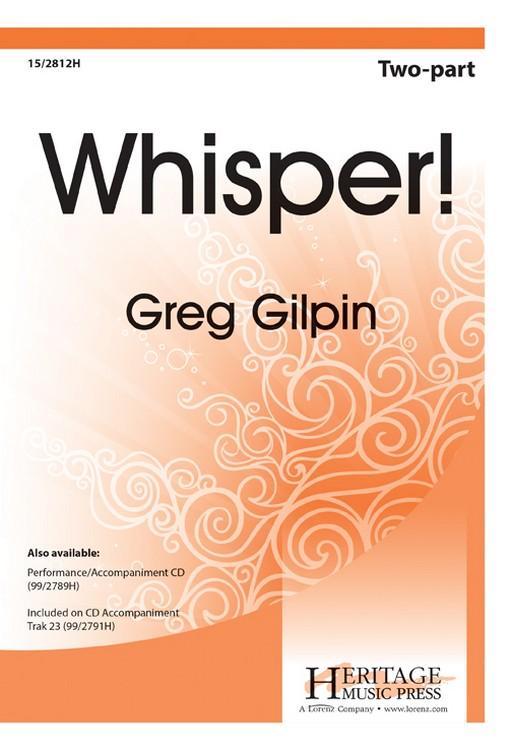 WHISPER PERFORMANCE ACCOMPANIMENT CD GILPIN (99/2789H ) (Director Accompaniment Cass/CD)