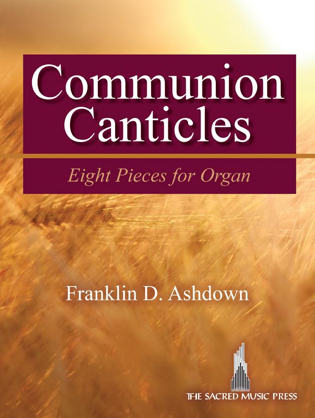 COMMUNION CANTICLES ASHDOWN (702115S ) (Organ Folios )