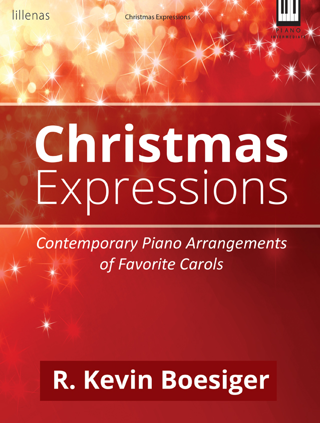 CHRISTMAS EXPRESSIONS BOESIGER (9780787763183 ) (Christmas Piano Book )