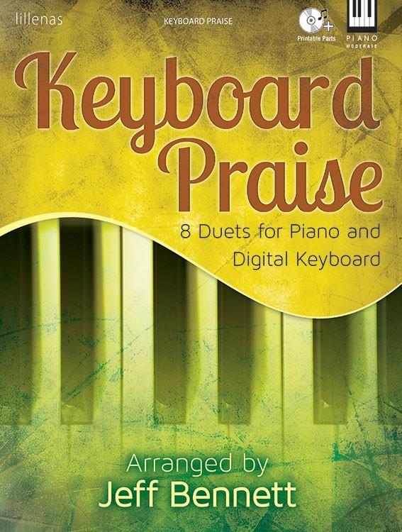 KEYBOARD PRAISE PIANO & DIGITAL KEYBOARD BENNETT (9781429136372 ) (Sacred Piano Duet Folios )
