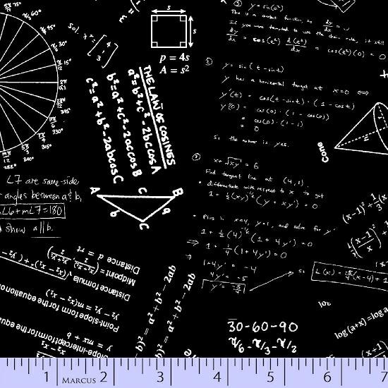 Do The Math - Formulas Black 7/20