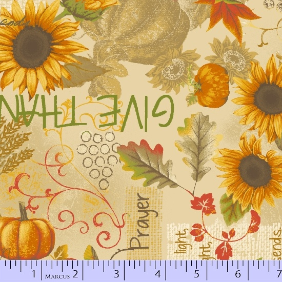 HARVEST SONGBOOK FLOWERS, PUMPKINS & WORDS R210570-0532
