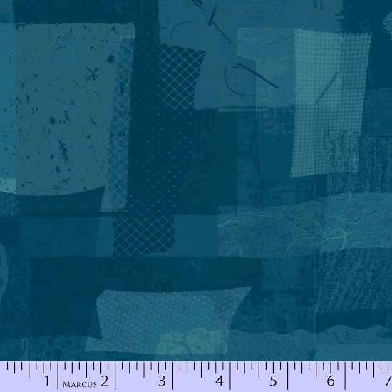 0575-1019 Scrap Heap, Dark Blue