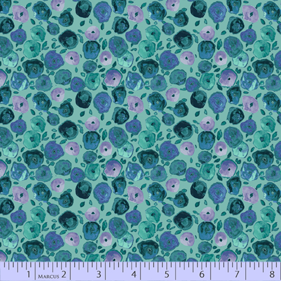 R15 Night Riviera 0598 1014 Pop Floral Turquoise