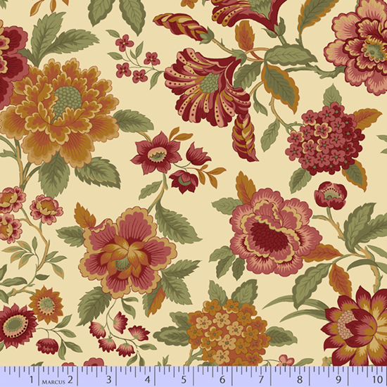 Tarrington Large Floral Cream