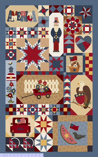 R23 Patches of Americana Panel